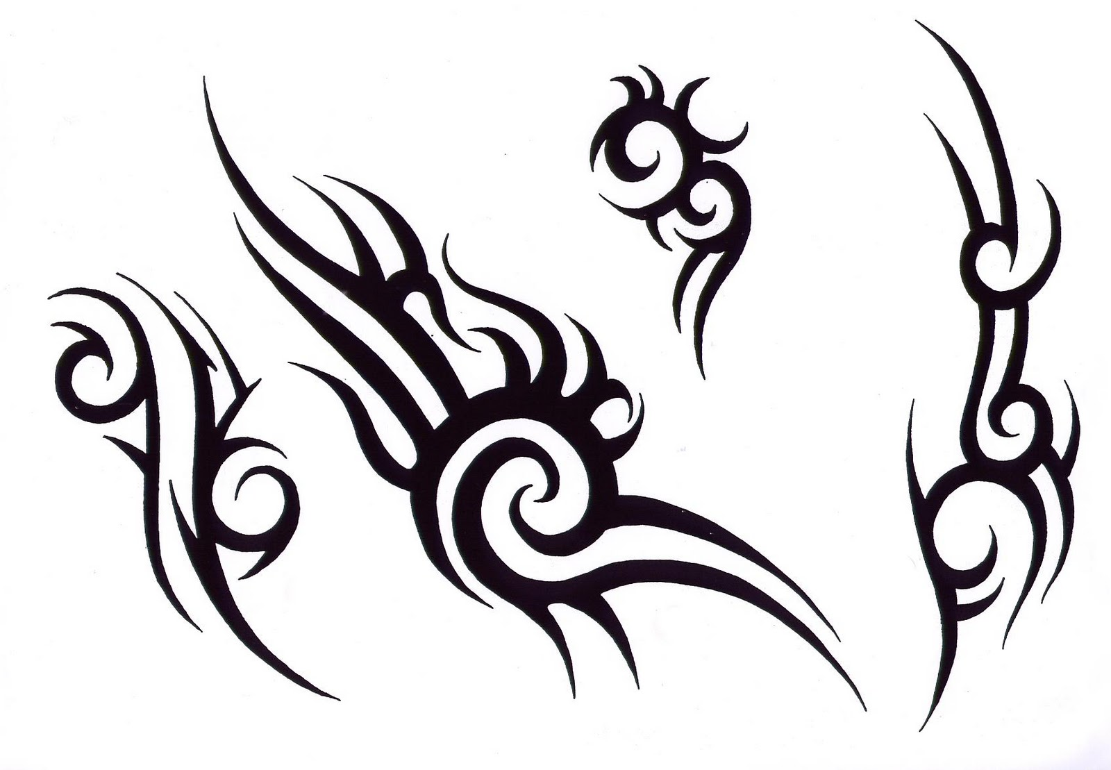 Logically correctly Tribal tattoo designs where