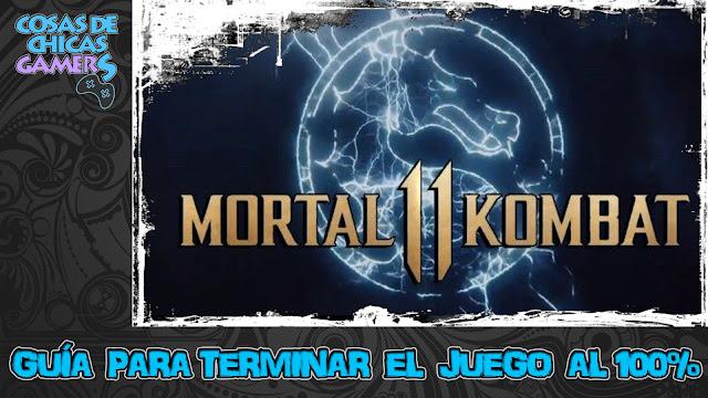 Guía para completar Mortal Kombat 11