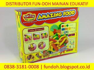 Jual Mainan Anak Perempuan, fun doh amazing food, mainan anak perempuan 2 tahun, mainan anak perempuan 3 tahun, mainan anak-anak masak-masakan, mainan anak perempuan masak masakan,