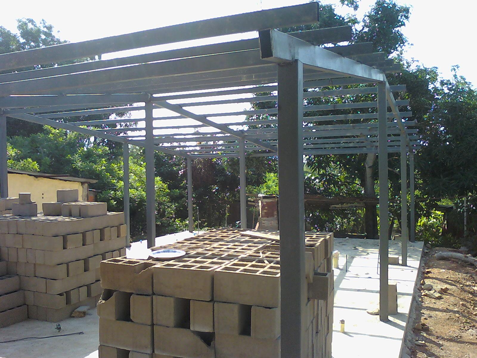 Ideas en hierro forjado estructuras de hierro para casas - Casas con estructura metalica ...