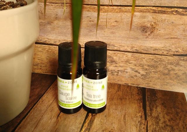 huiles essentielles HE tea tree sauge sclarée lutter boutons