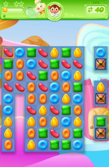 Candy Crush Jelly Saga 144