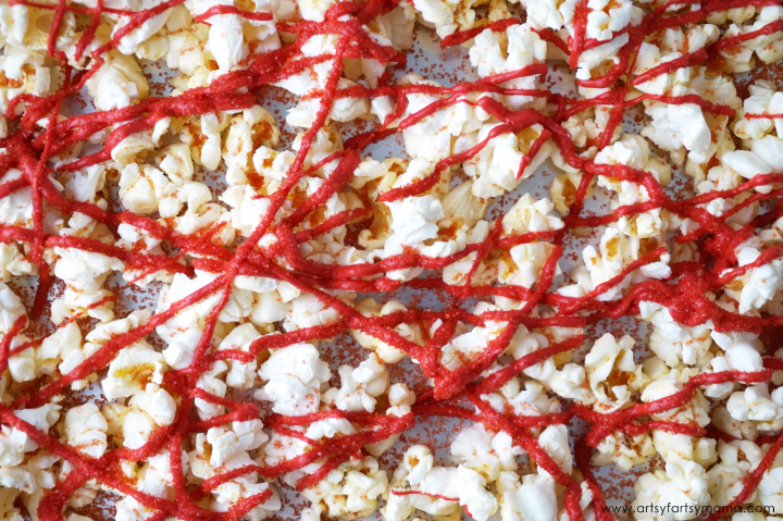 Make some Captain Underpants Popcorn for Captain Underpants Movie Night Ideas with Free Printables
