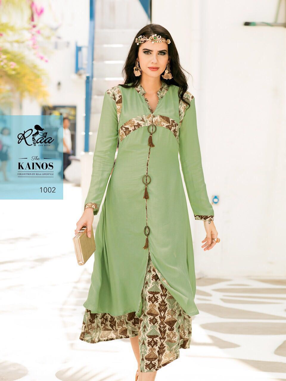 KAINOS By Riya New Fancy Boutique Collection Rayon Kurtis