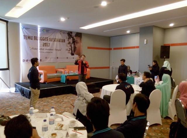 Temu Blogger Kesehatan 2017