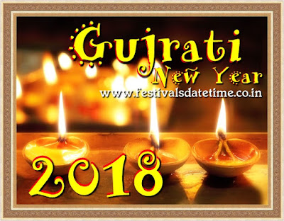 2018 Gujarati New Year Date in India