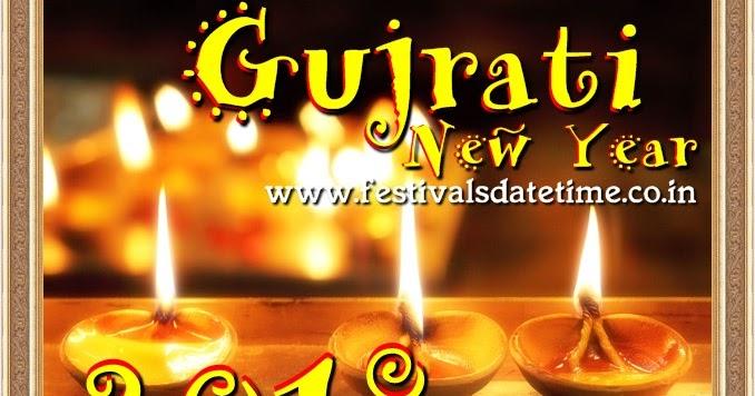 2018 Gujarati New Year Date In India Festivals Date Time