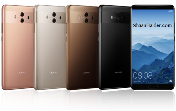 Huawei Mate 10 and Huawei Mate 10 Pro : Full Hardware Specs, Features, Prices and Availability