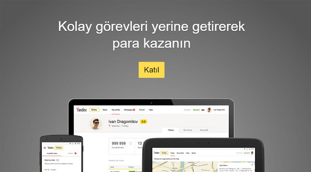 Yandex Toloka ile kolay görevleri yapın ve para kazanın