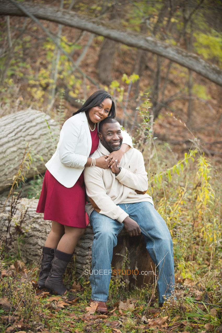 University of Michigan Engagement session - Sudeep Studio.com