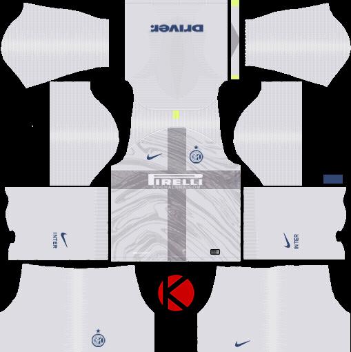 half off abf19 51c9f Inter Milan 2018/19 Kit - Dream League Soccer Kits - Kuchalana