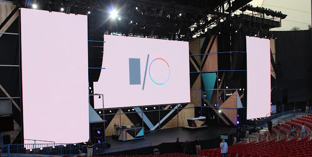 Google I/O 2018 Event Full Schedule and Venue Details  Here are the all details about Google I/O 2018. I found the all the details of the next Google I/O developer event.   Google I/O 2018 will mark a return to the Moscone Center in San Francisco  So, this year's Google I/O developer event held at the Shoreline Amphitheatre in Mountain View to mark the 10th anniversary of the company. (via TechCrunch).  Shoreline was a much larger venue with over 7,000 developer attendees this year, in addition to other Google engineers, designers, and product managers. The main keynote was held on a stage usually reserved for large concerts, with smaller ones strewn across the parking lot. Due to the vast amount of space, there was a real Burning Man vibe with art and tech displays placed throughout.  This year's event was officially announced in early January with more details available and registration opening up in early March.