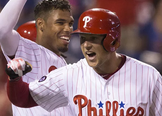 Phillies projections from PECOTA and FanGraphs