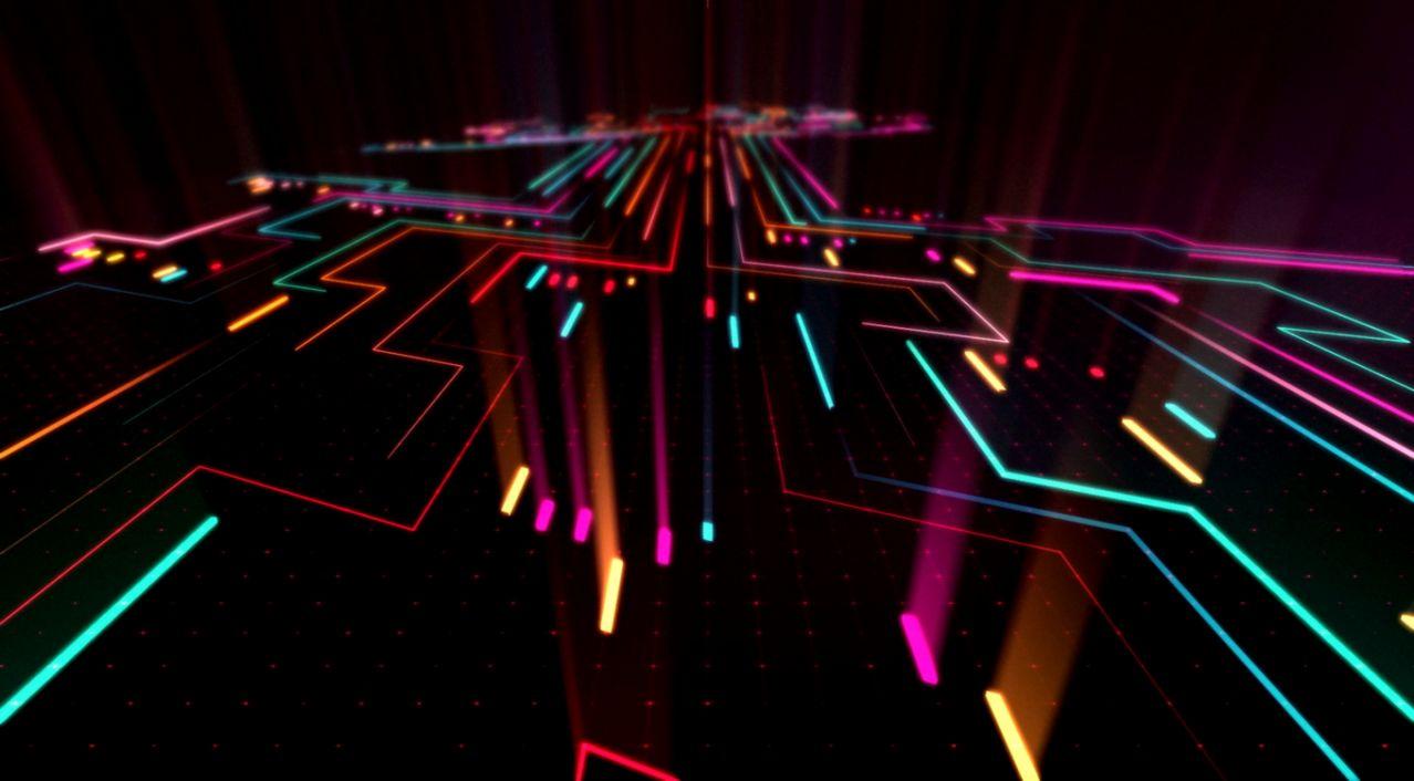 Abstract Neon Hd Wallpaper Dir Wallpapers