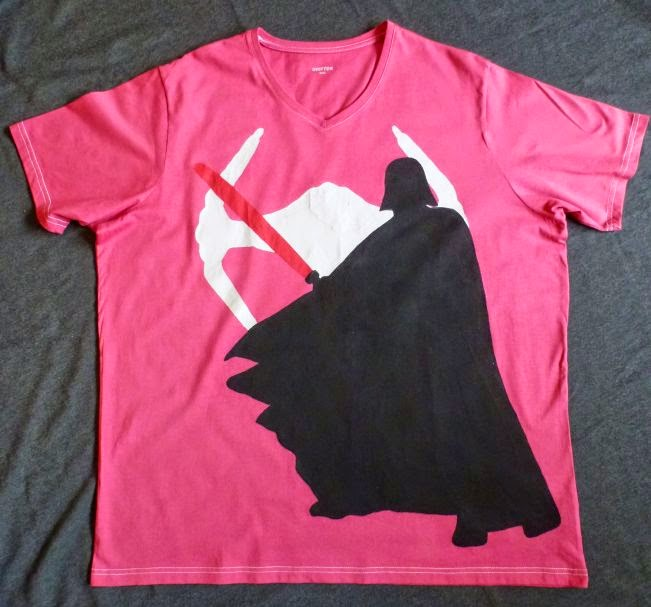 Darth Vader T-Shirt mit Tafeloberfläche