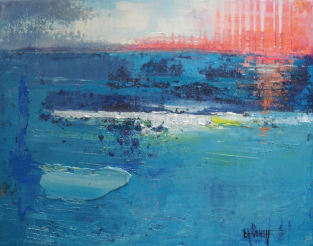 Contemporary Abstract Seascape Paintings