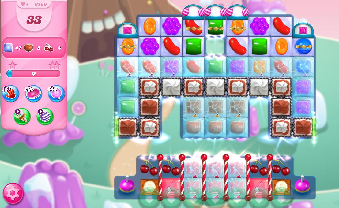 Candy Crush Saga level 6780