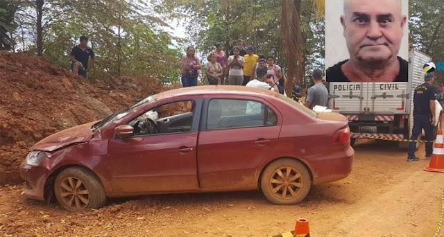 Motorista morre após perder controle de carro na Estrada do Belmont