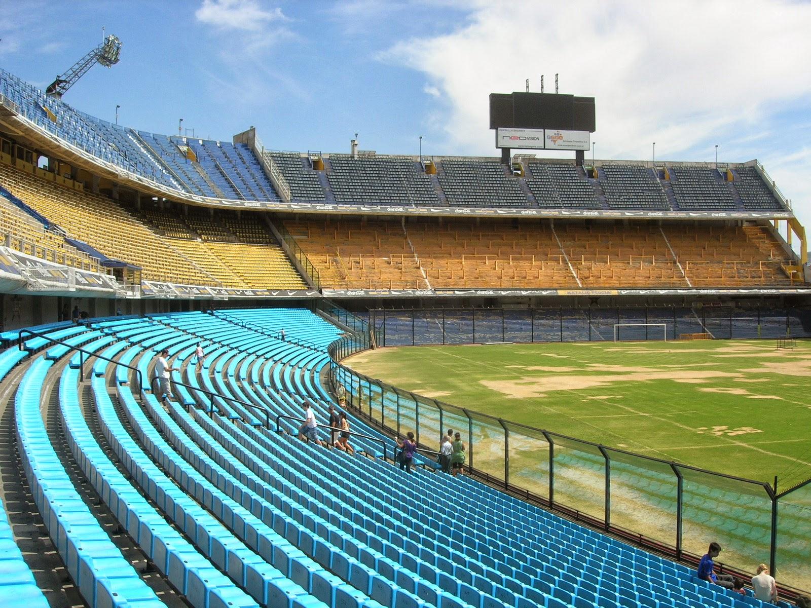 Estádio do Boca Juniors - La Boca - Buenos Aires- Argentina