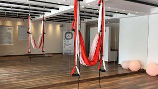 online euespa yoga aereo yoga en el aire