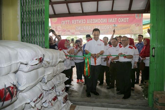 Pemprov Lampung Launching Toko Tani Indonesia Center