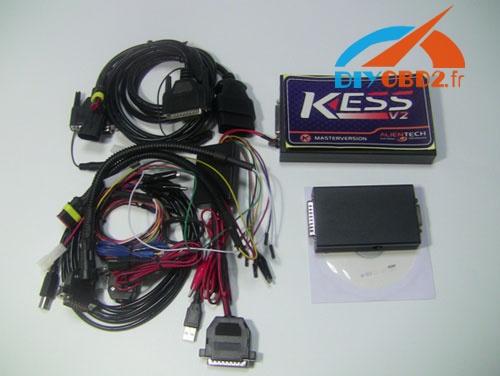 Review on KESS V2 V2 22 ECU Chip Tuning Kit-obd2diy fr
