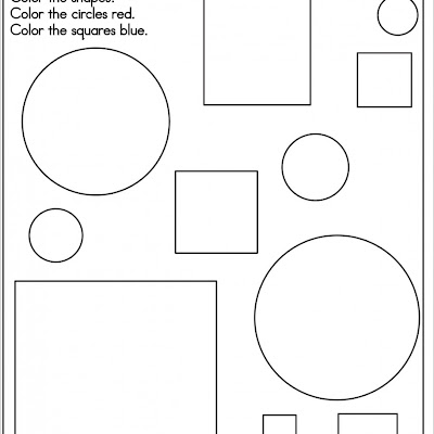 Coloring Pages Of Shapes And Numbers Cute Printable Coloring Pages