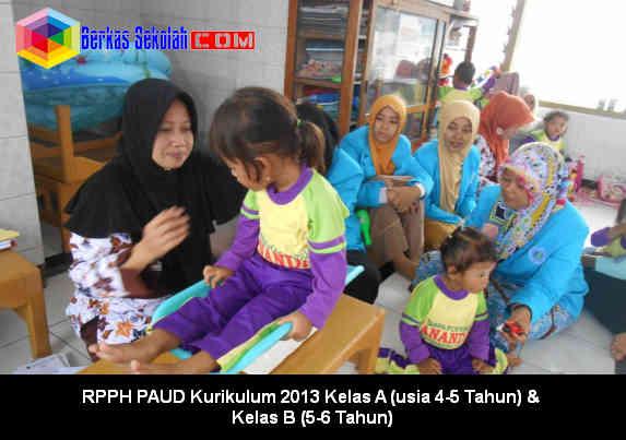 RPPH PAUD Kurikulum 2013 Berkas Sekolah