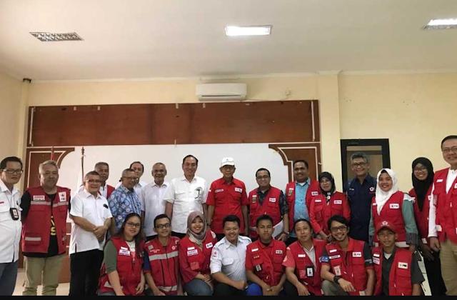 Lippo Group Bersama PMI Salurkan Bantuan Untuk Korban Tsunami Selat Sunda
