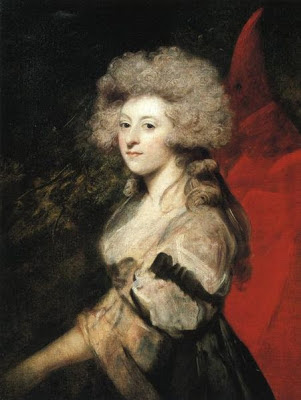 Portrait of Maria Fitzherbert by Joshua Reynolds