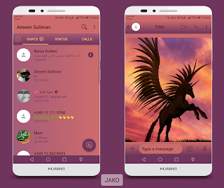 Horse Colorful Theme For YOWhatsApp & Fouad WhatsApp By Ameen Suliman