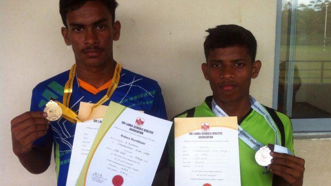 Two medals at Chavakachcheri Hindu