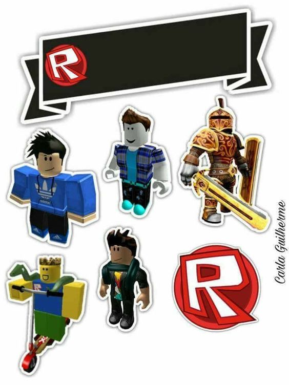 Roblox Free Printable Cake Toppers Oh My Fiesta For Geeks