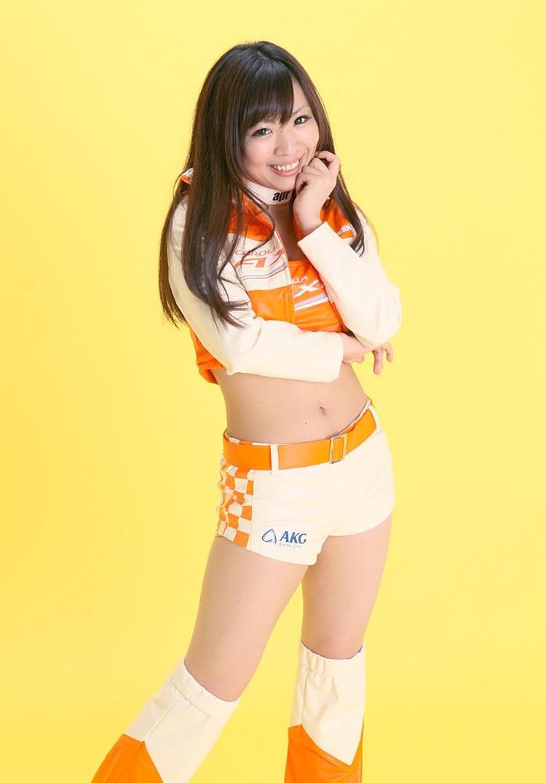 mayuka kuroda sexy japanese race queen 4
