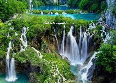 Two Colors Waterfall, North Sumatera3
