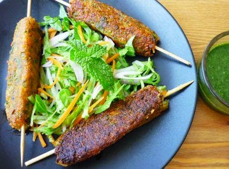 OIL FREE VEGETABLE SEEK KABAB AIRFRYER