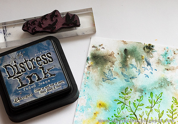Layers of ink - DIY Guestbook Tutorial by Anna-Karin Evaldsson with Paper Artsy Infusions.