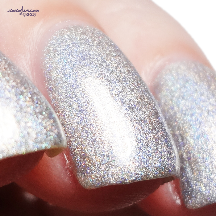 xoxoJen's swatch of Don Deeva Queen Pluviophile