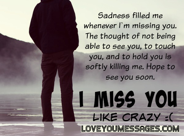 Messages miss me Missing Someone