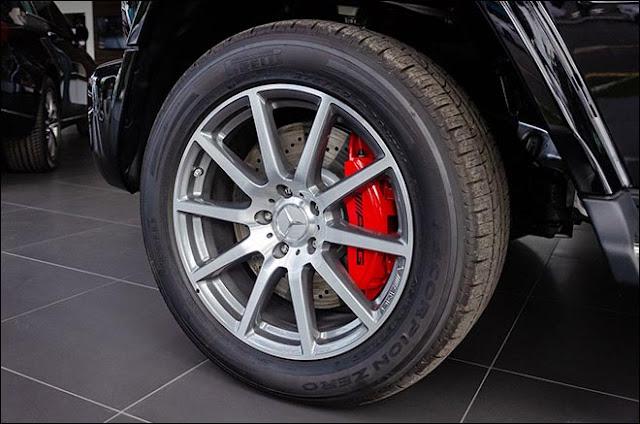 Cận cảnh Mercedes-AMG G63 chính hãng đầu tiên tại Việt Nam