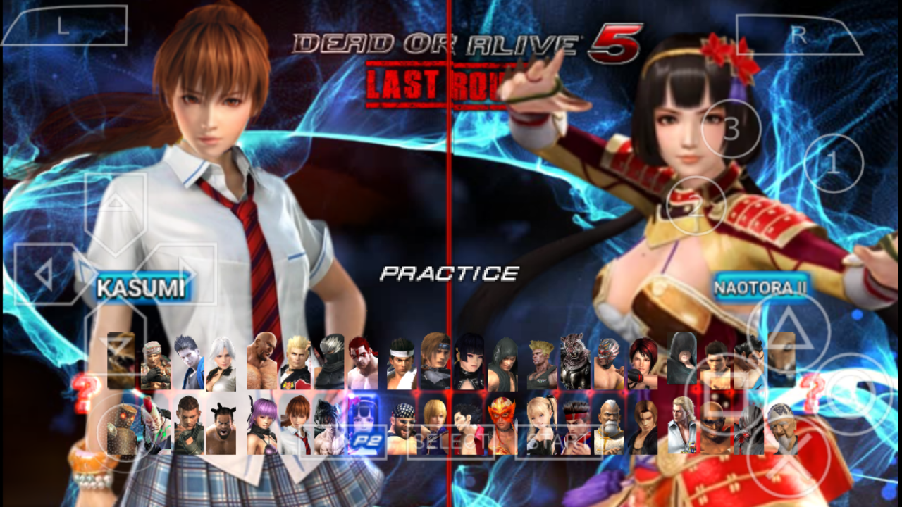 Dead or Alive 5 Last Round - PSP PPSSPP MOD Android | The