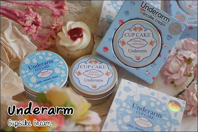 :: รีวิวครีมทาผิวใต้วงแขน Little Baby Underarm Cupcake Cream ::
