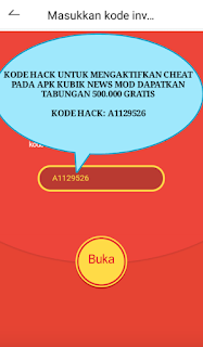 Download Aplikasi Kubik Mod Terbaru, Trik Cara Hack Langsung Dapatkan Pulsa Banyak 500Ribu