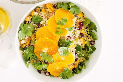 Jewelled couscous salad recipe