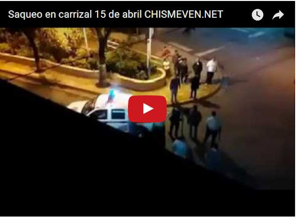 Momento de la detención de 11 saqueadores del PSUv en Carrizal