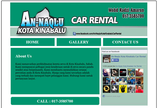 An Naqlu Car Rental Kota Kinabalu