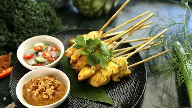 Sate Ayam ala Thailand