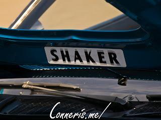 Dodge Challenger Shaker Hood Sticker