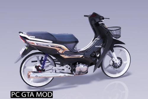 Free Download Honda Dream 2019 Mod for GTA San Andreas.