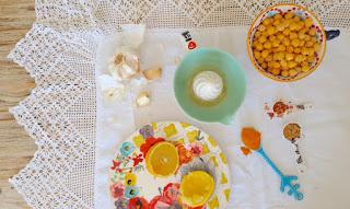 Receta: Hummus de cúrcuma picante